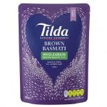 Tilda Steamed Brown Basmati Rice 250g